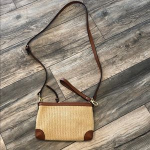 Charming Charlie Woven Purse